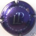Champagne capsule 58.f Violet métallisé et argent