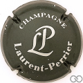 Champagne capsule 52.a Antracite, lettres argent