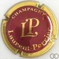 Champagne capsule 40.a Bordeaux foncé et or vif