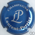 Champagne capsule 49 Bleu métallisé et gris