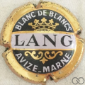 Champagne capsule 2 Contour cuivre, 1969 grandes lettres