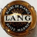 Champagne capsule 3 Contour cuivre, 1969 à encoches