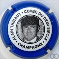 Champagne capsule 5 Bleu vif