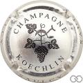 Champagne capsule 8 Métal et noir
