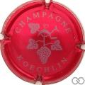 Champagne capsule 10 Rouge et gris