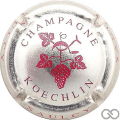 Champagne capsule 9 Métal et rouge