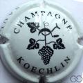 Champagne capsule 4 Blanc et noir