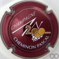 Champagne capsule 615 An 2000, n° 615, bordeaux