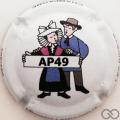Champagne capsule 18.b AP 49, Le couple Angevin