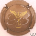 Champagne capsule 6 Or-bronze et or