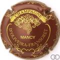 Champagne capsule 4 Bordeaux et or