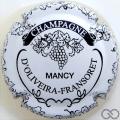 Champagne capsule 5.d Blanc et noir