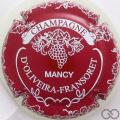 Champagne capsule 5.c Rouge et blanc