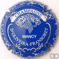 Champagne capsule 5.h Bleu et blanc