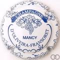 Champagne capsule 5.f Blanc et bleu