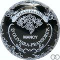 Champagne capsule 5.g Noir et blanc