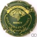 Champagne capsule 5 Vert et or