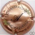 Champagne capsule 7.c Cuivre et noir