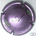 Champagne capsule 7.b Rosé-violacé et noir