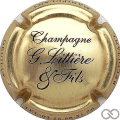 Champagne capsule 1.b Or et Noir
