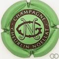 Champagne capsule 31.e Vert pâle métallisé et noir