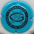 Champagne capsule 31.d Bleu turquoise et noir