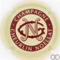 Champagne capsule 32 Crème et marron (bordeaux)