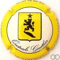 Champagne capsule 18 Contour jaune