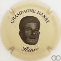 Champagne capsule 1.c Crème et noir
