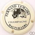 Champagne capsule 2.a Crème clair et noir