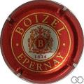 Champagne capsule 13.a Jéroboam rouge
