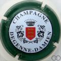 Champagne capsule 29 Vert