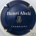 Champagne capsule 42 Fond bleu-noir