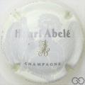Champagne capsule 42.a Fond crème pâle