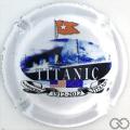 Champagne capsule 43 Cuvée Titanic