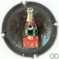 Champagne capsule 3.a (O) Ecriture or