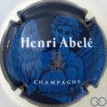 Champagne capsule 42.d Bleu, ange bleu clair