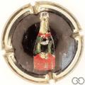 Champagne capsule 3.b Imprimée au verso