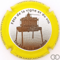 Champagne capsule 2.aa Contour jaune et marron