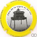 Champagne capsule 2.a Contour jaune et noir