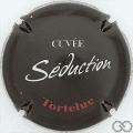 Champagne capsule 8.c Fond noir, Tortelue