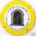 Champagne capsule 4.c Contour jaune