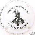 Champagne capsule 2.eb Blanc et noir