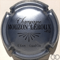 Champagne capsule 5.f Gris-bleuté et noir
