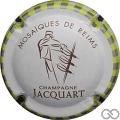 Champagne capsule 23 Mosaïques de Reims - Carrés alignés