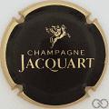 Champagne capsule 29 Noir, contour or