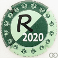 Champagne capsule 27.b R - Mondial 2020