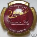 Champagne capsule 6 Bordeaux et or