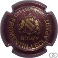 Champagne capsule 7.b Bordeaux et or, Y dessus E
