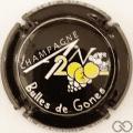 Champagne capsule 1112.a An 2020, noir, Bulles de Gones